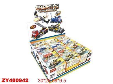 Изображение 6000 конструктор (строит.техника) , 32 дет, 24шт/ в кор,  480942