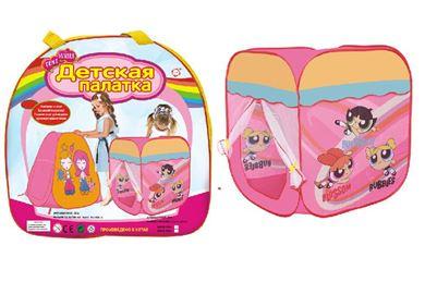 Изображение 999Е-49А палатка-домик для девочек в сумке 47080