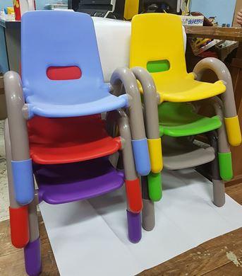 Изображение 02 стул детск., пластмассовый, 437591
