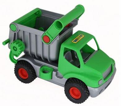 Изображение КонсТрак автомобиль самосвал зеленый в сеточке, 0575 (Полесье)