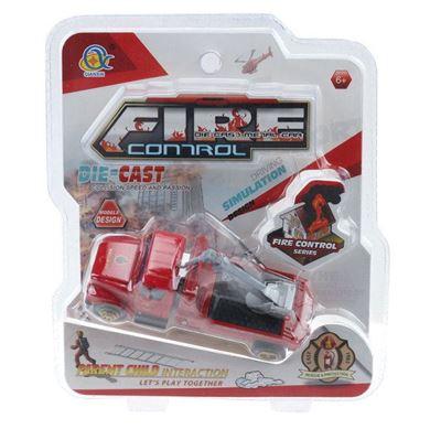 Изображение 595-В-139 машина пожарная метал., п/блистером 027453
