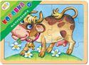 """Изображение Игра из дерева """"Каруселька. Коровка"""" ( Baby Step ) арт.89032"""