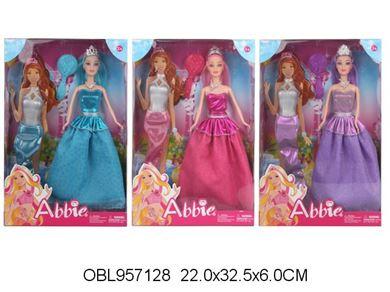 Дом Игрушки. 035 В кукла с нарядами, в коробке 957128