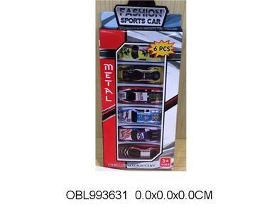 Изображение 806 В XL набор машин металл, 6шт/, в коробке 360025