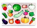 """Изображение Развивающая доска """"Овощи"""" (большая), арт.7987"""