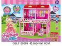 Изображение 956 дома для кукол,45,5*41*32,5* см в коробке  1159169