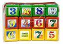 Изображение Кубики  Математика обьемные, пакет 12 эл, арт.0310 Омск