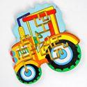 """Изображение Лабиринт средний """"Трактор"""", арт.0086"""
