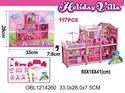 Изображение 588-3 дом-вилла д/куклы, 117 дет., в коробке 1214260
