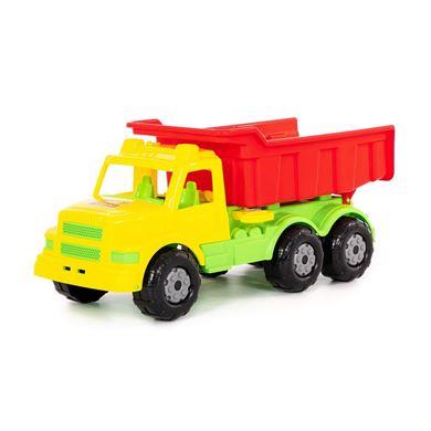 Изображение Буран №1, автомобиль-самосвал (желто-красный), арт.43627