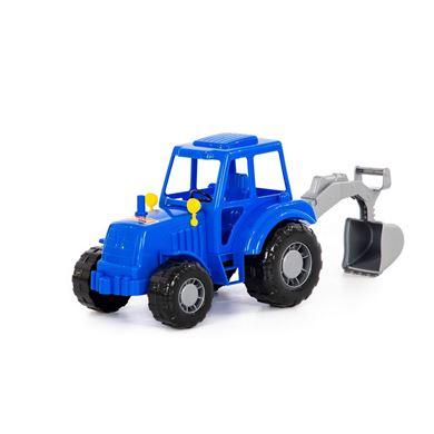 Изображение Алтай, трактор с лопатой, (синий), в сеточке, арт.84866