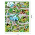 """Изображение Коврик игровой """"Зоопарк 3D"""" КНОПА, арт.657027"""